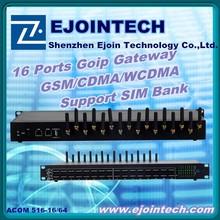 telemarketing products 16 port mulit-slot voip gsm gateway for IDD/ international calling sim server gsm gateway