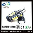 Auto LED lamp White 12V T10 5730 13SMD canbus car led backup light