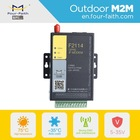F2114 gsm modem low consumption with 5 I/O and rs232 rs485 serial port