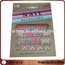 fasion design sticker nail art