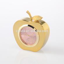 promotional clock apple shape table clock