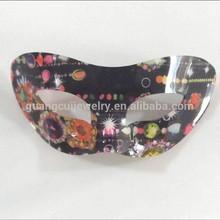 fashion newest plastic acrylic neon party mask