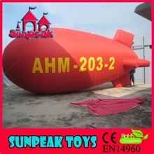 BL-530 Sunpeak Hot Factory Design Inflatable Custom Helium Balloon Rocket