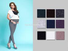 Maternity Cotton Front Panel Full Ankle Length Leggings