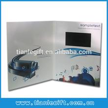 Greeting Invitation Brochure SD Card Portable DVR Digital Video Recorder