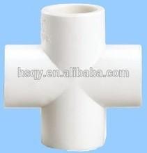 attractive price pvc 4 way tee/PVC Cross