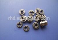10*15*3mm open type flange ball bearing F6700