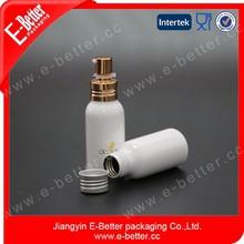 new design empty aluminum bottle for hair perfume spray
