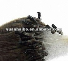 hot selling,factory wholesale cheap price tangle free, 100% indian human hair,micro ring