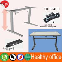 2 stage height adjustable desk legs & Nitra modern design ergonomic stand up desk & adjustable metal frame with electric columns