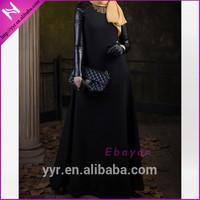 hijab style ladies winter maxi kaftan