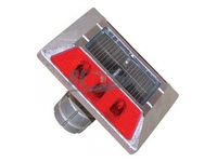 Blue/Red/White/Yellow LED Solar Powered Driveway Marker Light