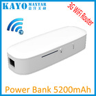 5200mAh wifi wireless router power bank