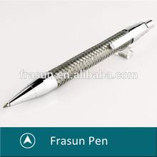 Steel Braid Pen,Cross Pen,Stainless Steel Material Pen