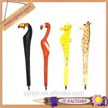 wholesale animals engraving ballpoint pen