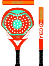 Very good wholesale price for China 2014 OEM head tennis racket