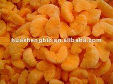 Fresh frozen mandarin broken