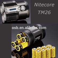 Nitecore TM26 LED Torch - 3800 Lumen/Cree Led Flashlight