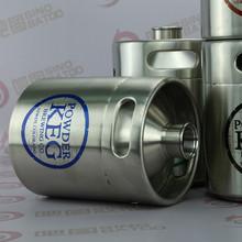 Stainless steel growler 2014 new design plastic beer bottle cooler