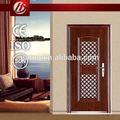 Preço do competidor porta de metal, aço porta de segurança, ferro forjado porta tempestade inserir