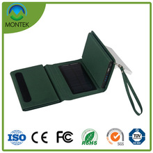 High Quality 8000mAh Mini Solar Power Bank Charger