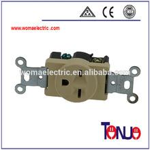 South American electric receptacle socket&plug 1 gang