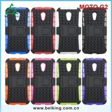 For Moto G 2 shock proof case, for Moto G case, Stand case for Motorola Moto G