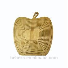 Factory direct free standing fruit basket HHFB002