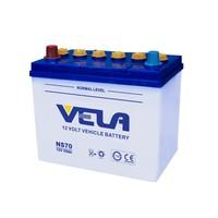 NS70/NS70L/65D26R/65D26L JIS start stop 12v65ah automotive Battery for car -12V65AH -NS70, JIS Standard dry cell car battery