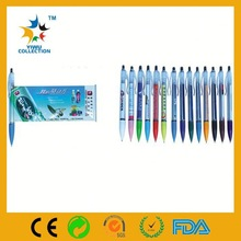 Professional retractable cheap banner pen with calendar