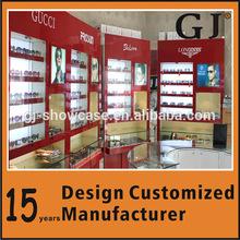 Floor Wall Mounted Eyewear Displays Cabinet For Eyewear