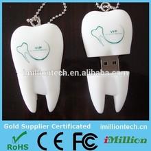 Custom logo usb memory dental usb/ tooth usb /dentist usb flash drive