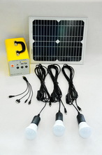 Best quality best sell solar home system kit with radio