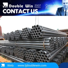 ASTM, AISI, DIN, BS, EN welded round tube/black round pipe