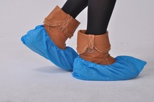 Cheap disposable CPE shoe cover