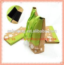Portable Eco Folding Reusable nylon Shopping Grocery Bag