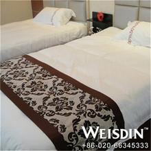 purple wholesale satin fabric 100% cotton brand name bedding sets
