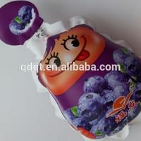 shape plastic drink bag packet juice