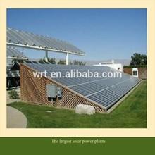 The world's largest solar power plants