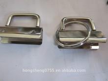 Ribbon accessory key fob hardware, cheap price key fob