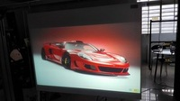 1.52mx2m Black Projection Screen Fabric/Adhesive Rear Projection Film /Holographic Window Film
