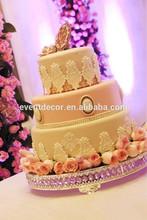 Beautiful Glass&Metal Cake Stand,Cupcake stand,Wedding cake stand
