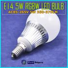 AC86-265V 5W E14 Group Division RGBW Mi Light LED Bulb