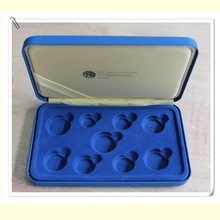 Deluxe Padded Sovereign Case for 9 Irish Coins