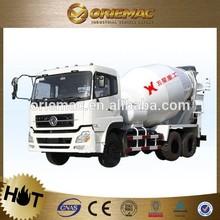 Shacman 6X4 diesel white flatheaded Concrete Mixer Truck , cement transport vehicle