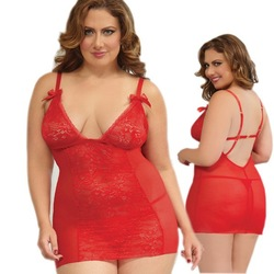Woman Plus Size Babydoll Queen Size Sexy Lingerie