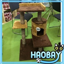 Coral Velvet Wholesale Cat Tree Scratching Post Pet Products