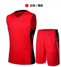 latest china fitness clothing red basketball uniform unsex blank baseball jerseys wholesale