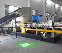 HDPE film automatic plastic granulator production line/plastic pellet granulation line