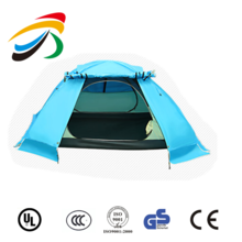 Outdoor Waterproof 3 Season folding camping tent Backpacking Hiking